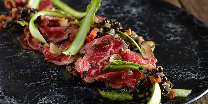 Beef Carpaccio from the Cliff in Sentosa, Singapore