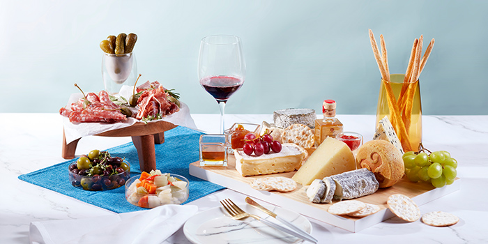 Premium European Cheese & Wine from Beach Road Kitchen in JW Marriott Hotel Singapore South Beach in City Hall, Singapore