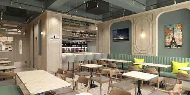 Interior, Boire et Manger, Wan Chai, Hong Kong