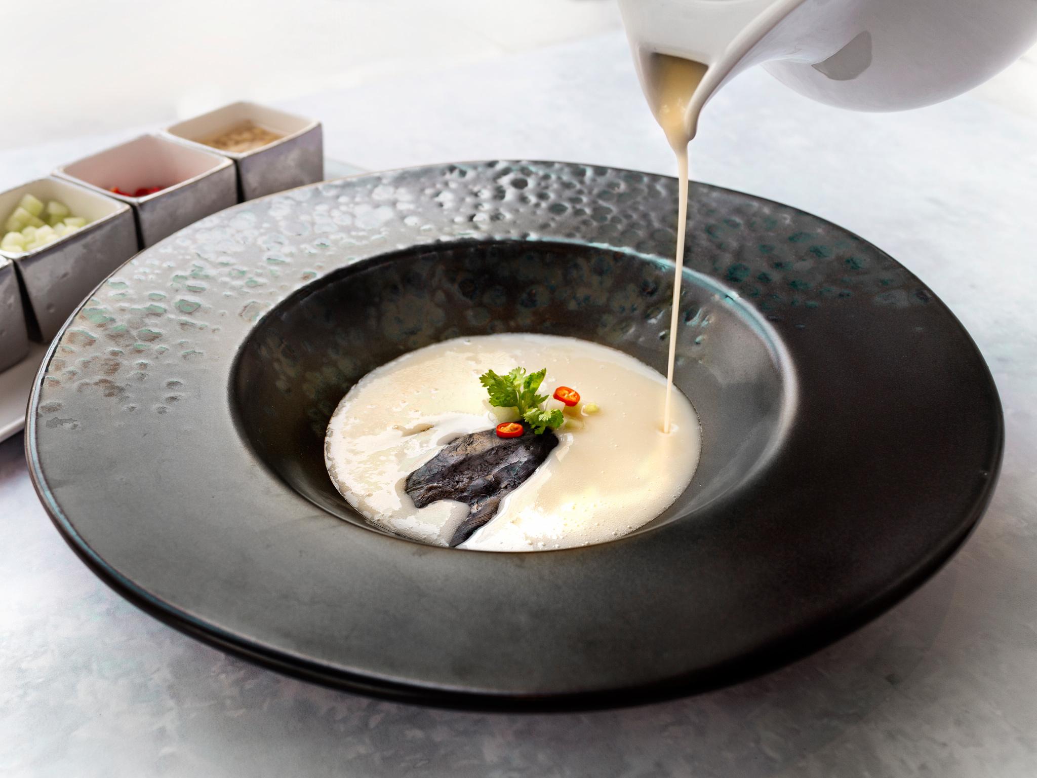 Black Bone Chicken from Basil at Sheraton Grande Hotel, Bangkok