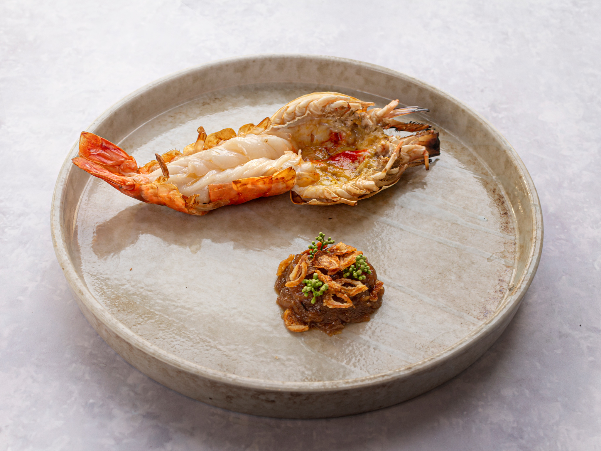 River Prawn from Basil at Sheraton Grande Hotel, Bangkok