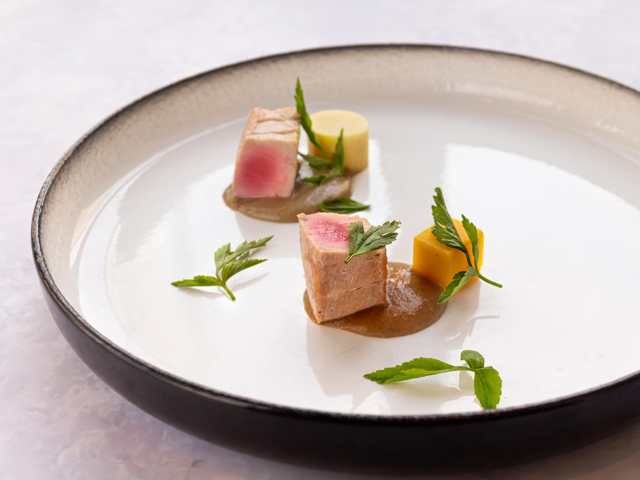Tuna from Basil at Sheraton Grande Hotel, Bangkok