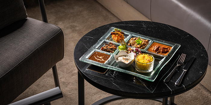 Executive Set Lunch from Rang Mahal at Pan Pacific Hotel in Promenade, Singapore