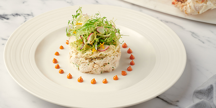 Salade de Crabe from Brasserie Les Saveurs at St. Regis Singapore in Tanglin, Singapore