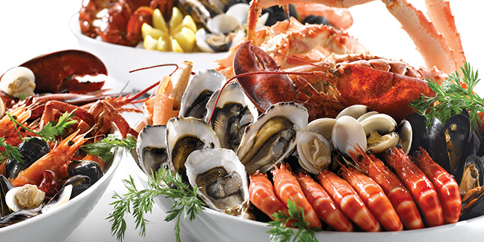 Seafood Buffet Dinner from Brasserie Les Saveurs at St. Regis Singapore in Tanglin, Singapore