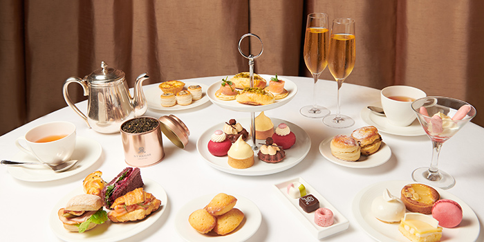 Afternoon Tea Menu from Brasserie Les Saveurs at St. Regis Singapore in Tanglin, Singapore
