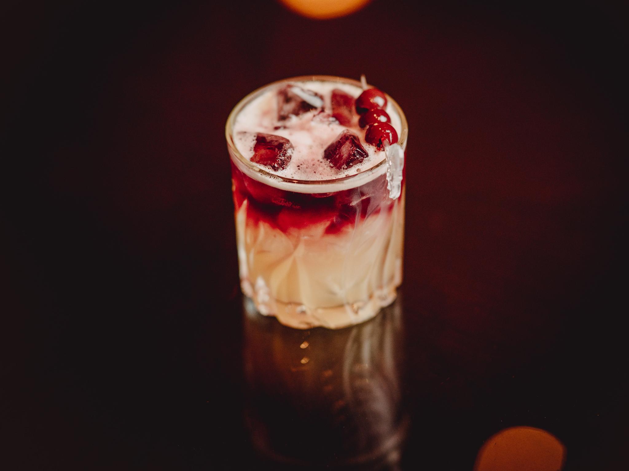 Drink from Sheraton Grande Hotel, on Sukhumvit Road