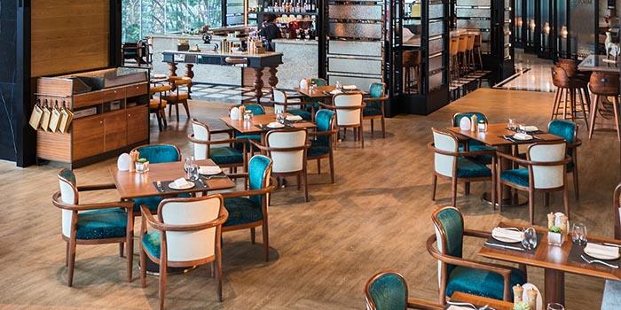 Interior, Mirage Bar & Restaurant, Wan Chai, Hong Kong