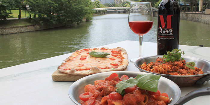 Wine & Dine from Grissini at Grand Copthorne Waterfront Hotel in Robertson Quay, Singapore