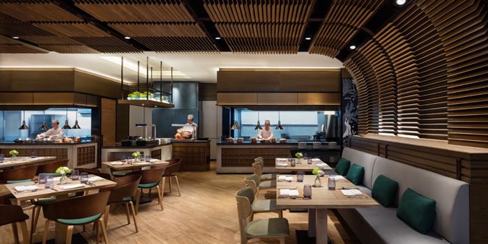 Interior, Marina Kitchen, Wong Chuk Hang, Hong Kong
