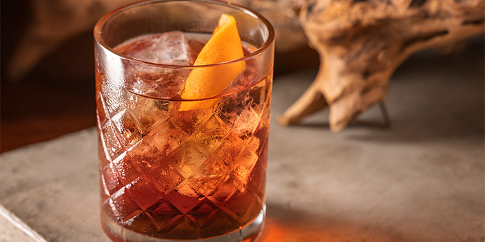 Summer Negroni from Summerlong at The Quayside in Robertson Quay, Singapore