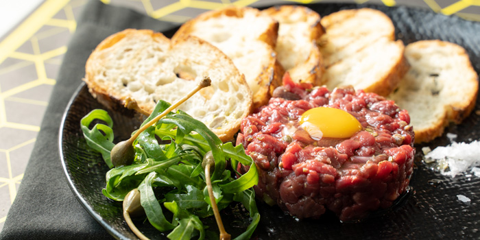 Beef Tartare from Mio Food&Art at 61/1 Sukhumvit 53, Khlong Tan Nuea, Watthana, Bangkok