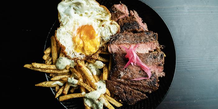 Steak & Egg Sundae from Freehouse in Raffles Place, Singapore