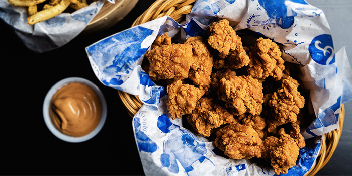 Popcorn Chicken from Freehouse in Raffles Place, Singapore