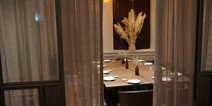 Private Room of Gaig in Tanjong Pagar, Singapore