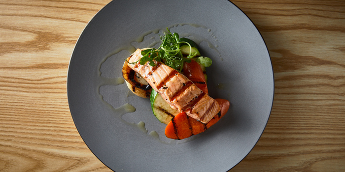 Salmon Patagonian, The Patagonia Argentinian Steak House, Sheung Wan, Hong Kong