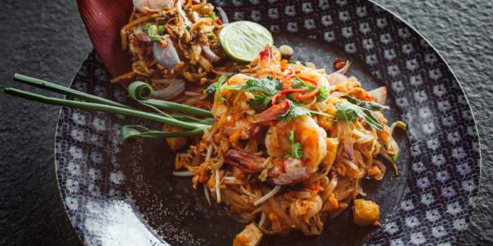 Food from Oceanfront Restaurant in Kok-Tanode Road Karon Muang Phuket, Thailand