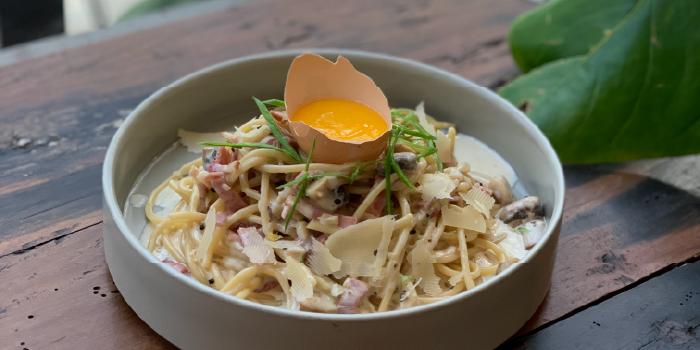 Food from Paperboy, Legian, Bali