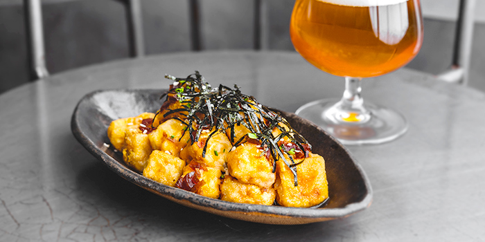 Too Full Fried Tofu from Almost Famous Craft Beer Bar in CHIJMES, Singapore