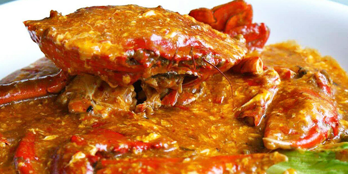 Chili Crab from Nan Jing Restaurant in Lavender, Singapore