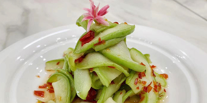 Cucumber with Sesame Oil from Nan Jing Restaurant in Lavender, Singapore