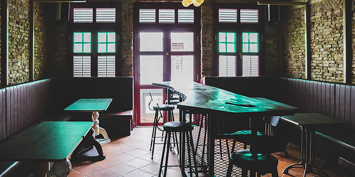 Interior from The Elephant Room in Outram, Singapore