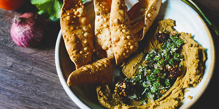Masala Liver Pate from The Elephant Room in Outram, Singapore