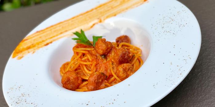 Spaghetti Sausage Nduja from Brunello at 15 Soi Rama IX 58 Suanluang Bangkok