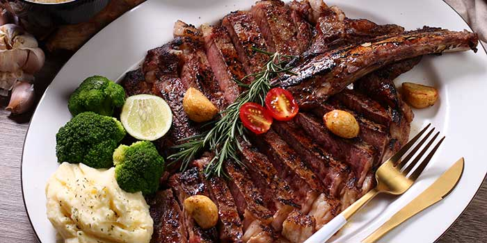 Tomahawk Mucca at Mucca Steak (Citywalk Sudirman), Jakarta