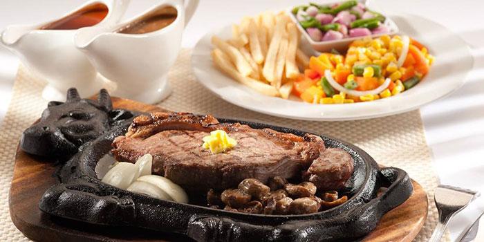 US Marbled Sirloin Beef at Mucca Steak (Citywalk Sudirman), Jakarta