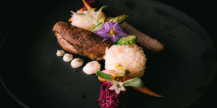 Food from Embers, Ubud, Bali
