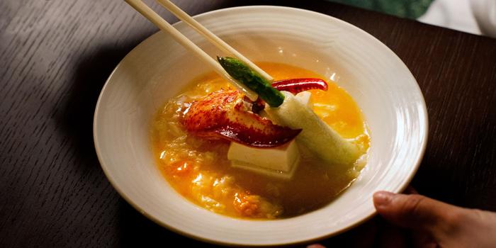 Steamed Fresh Lobster Claw, Yat Tung Heen, Jordan, Hong Kong