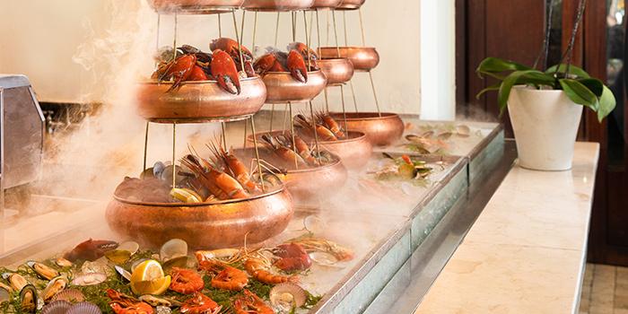 Food at Arwana Restaurant, Nusa Dua