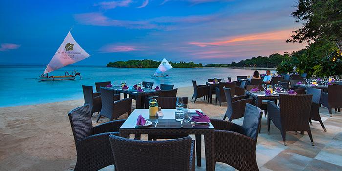 Dinner at Arwana Restaurant, Nusa Dua