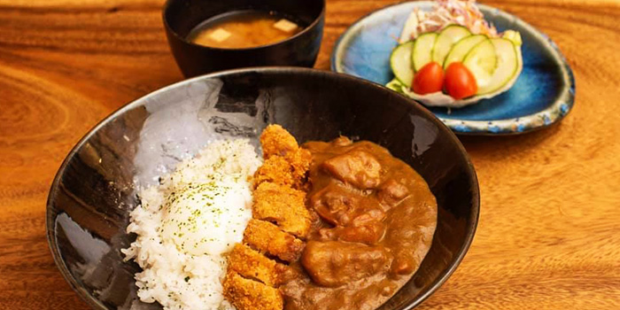 Chicken Katsu Curry Don from Jimoto Dining in Bukit Timah, Singapore
