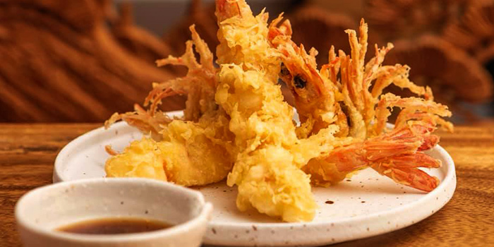 Tempura  from Jimoto Dining in Bukit Timah, Singapore