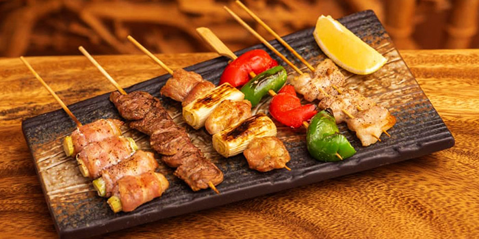 Skewers  from Jimoto Dining in Bukit Timah, Singapore
