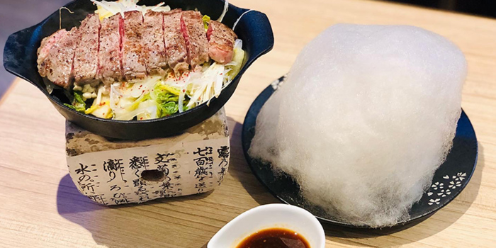 Premium Beef Steak from Spicy Rock at Capitol Piazza in City Hall, Singapore