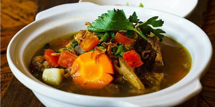 Dish 4 at Suasana Restaurant, ASTON at Kuningan Suites