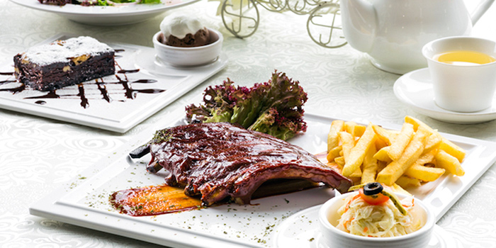 Baby Back Ribs from Enchanted Garden Restaurant in Lavender, Singapore