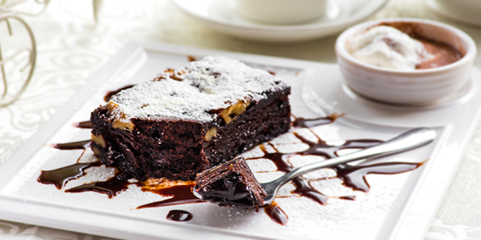 Choc Brownie from Enchanted Garden Restaurant in Lavender, Singapore