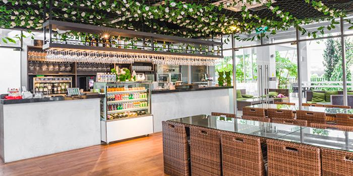 Restaurant Interior of Enchanted Garden Restaurant in Lavender, Singapore