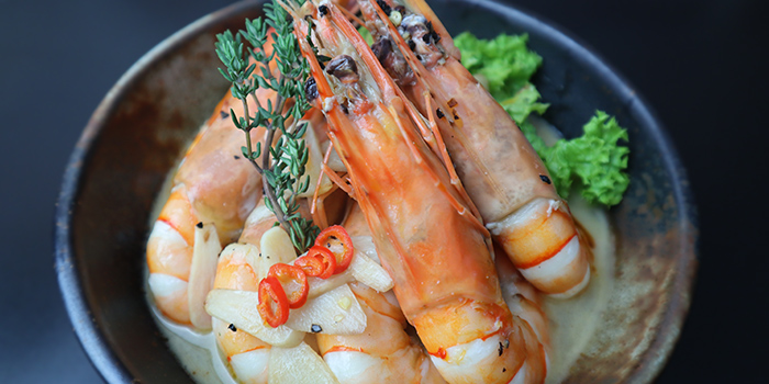 Spicy Garlic Tiger Prawn from Black Pearl Steakhouse in East Coast, Singapore