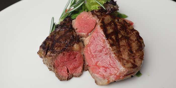 Super Prime Ribeye from Black Pearl Steakhouse in East Coast, Singapore