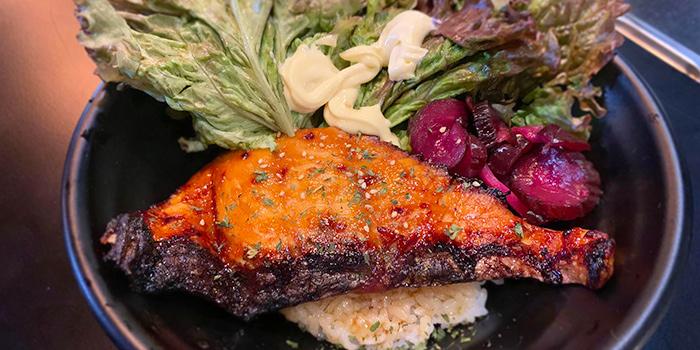 Teriyaki Salmon Don from Ambience Gastro Bar in Clarke Quay, Singapore