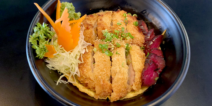 Katsu Don from Ambience Gastro Bar in Clarke Quay, Singapore