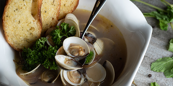 Clam ala Vino from Georges @ The Cove in Pasir Ris, Singapore