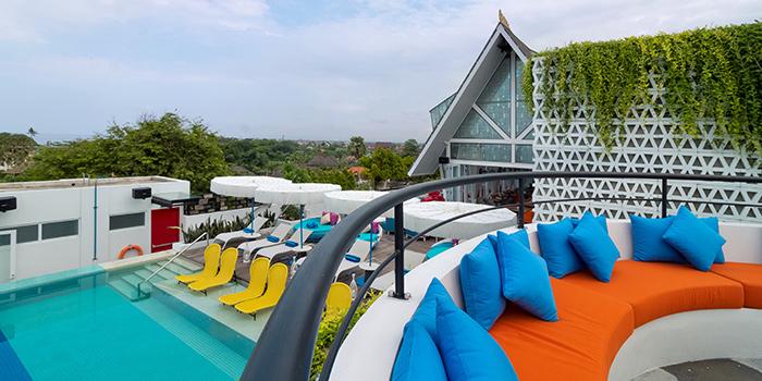 Rooftop from Kahuna, Seminyak, Bali