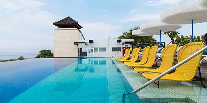 Pool from Kahuna, Seminyak, Bali
