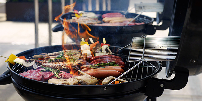 Pool Party & BBQ from Lantern at Fullerton Bay Hotel in Raffles Place, Singapore